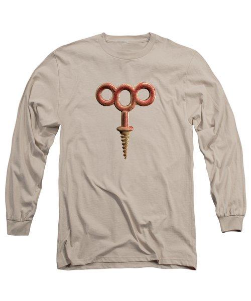 Foot Iron Long Sleeve T-Shirt by YoPedro