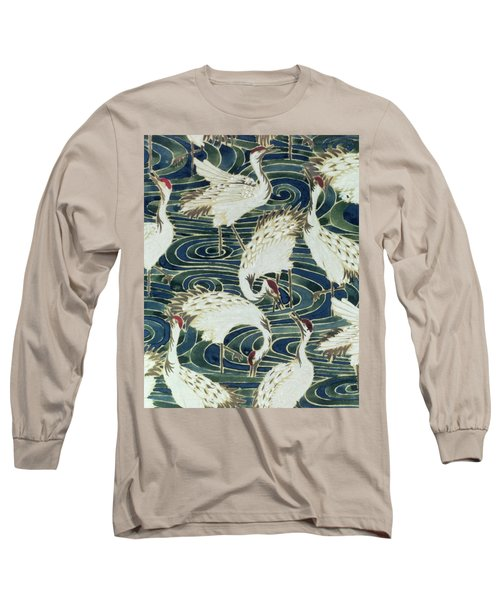 Vintage Wallpaper Design Long Sleeve T-Shirt by English School
