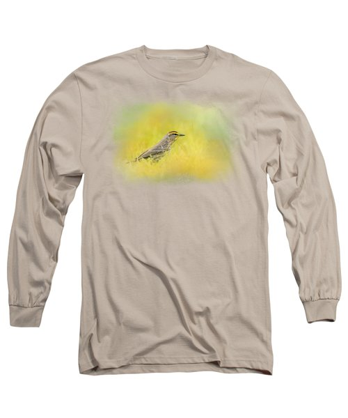Welcome New Friend Long Sleeve T-Shirt by Jai Johnson