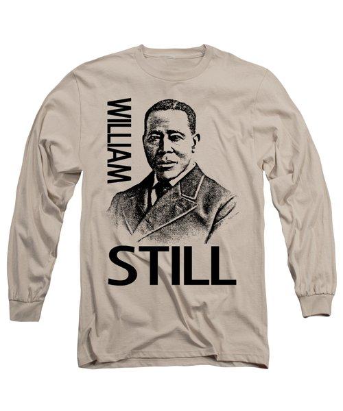 William Still Long Sleeve T-Shirt by Otis Porritt