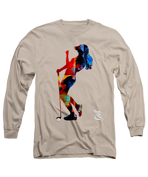 Womens Golf Collection Long Sleeve T-Shirt by Marvin Blaine