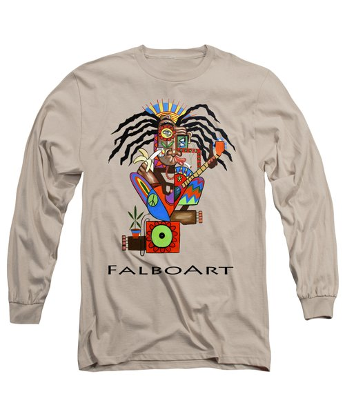 Ya Man 2 No Steel Drums Long Sleeve T-Shirt by Anthony Falbo