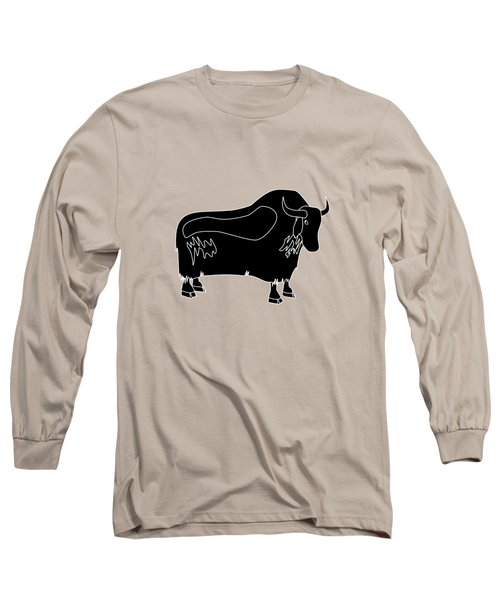 Yak Long Sleeve T-Shirt by Frederick Holiday