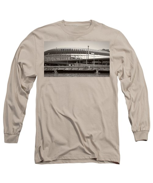 Yankee Stadium    1923  -  2008 Long Sleeve T-Shirt by Daniel Hagerman