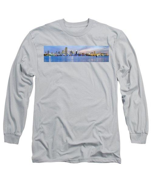 Miami 2004 Long Sleeve T-Shirt by Patrick M Lynch