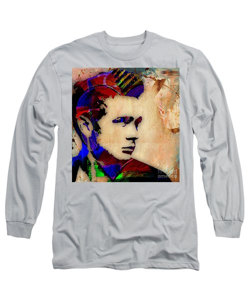 James Dean Collection Long Sleeve T-Shirt by Marvin Blaine