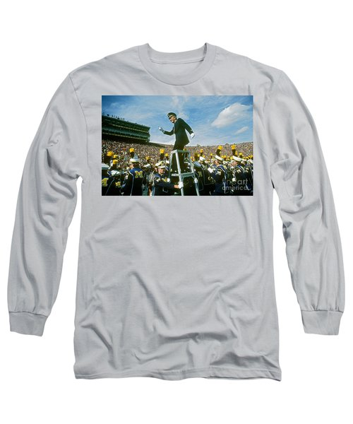 Band Director Long Sleeve T-Shirt by James L. Amos