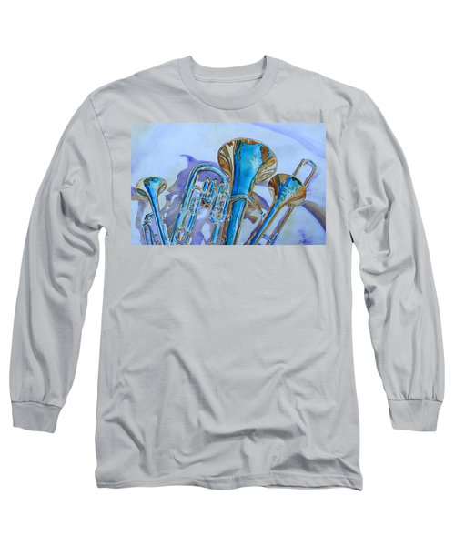 Brass Candy Trio Long Sleeve T-Shirt by Jenny Armitage
