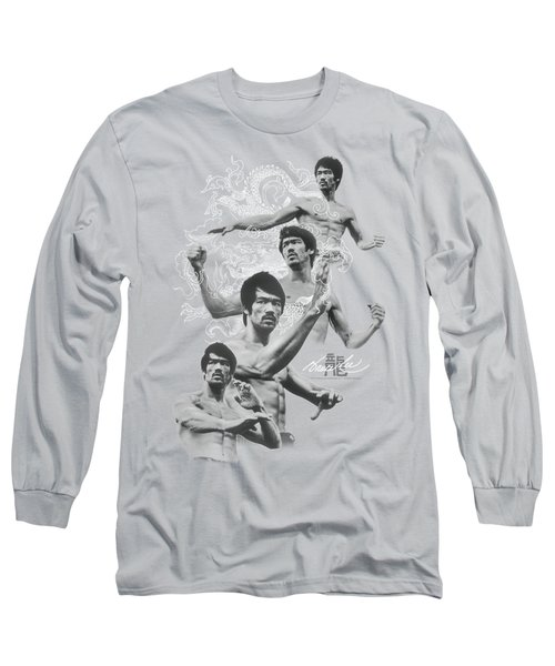 Bruce Lee - In Motion Long Sleeve T-Shirt by Brand A