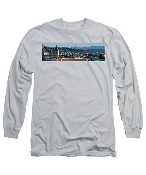 High Angle View Of A City, Beverly Long Sleeve T-Shirt by Panoramic Images