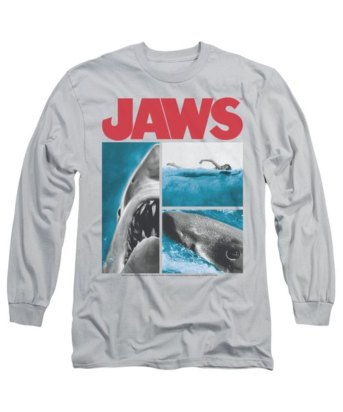 Jaws - Instajaws Long Sleeve T-Shirt by Brand A