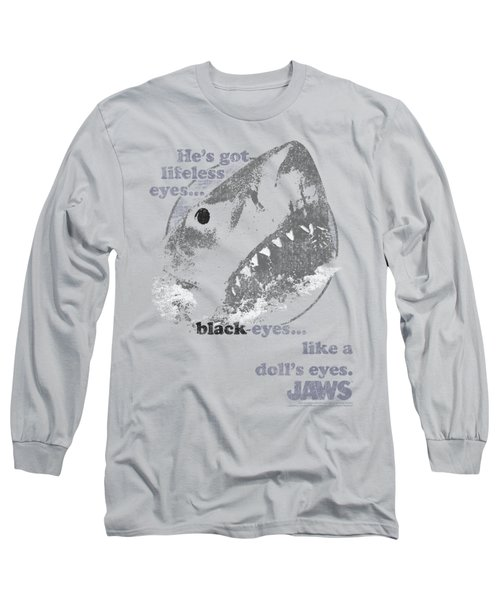 Jaws - Like Doll's Eyes Long Sleeve T-Shirt by Brand A