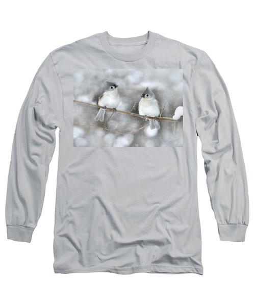 Let It Snow Long Sleeve T-Shirt by Lori Deiter