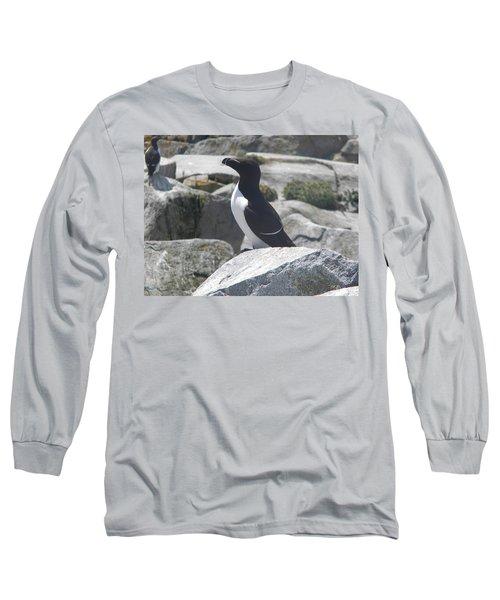Razorbill Long Sleeve T-Shirt by James Petersen