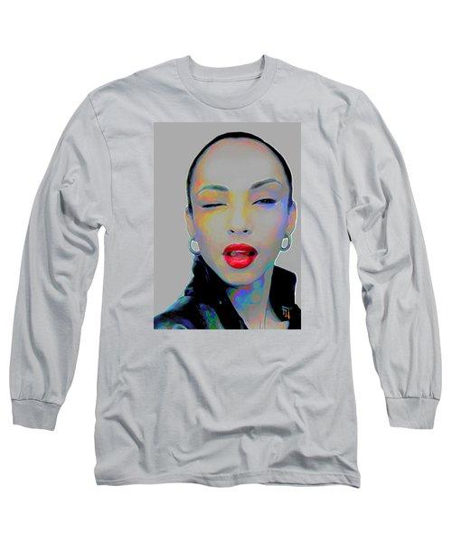 Sade 3 Long Sleeve T-Shirt by  Fli Art