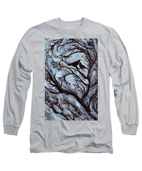 Stormy Day Greenwich Park Long Sleeve T-Shirt by Ellen Golla