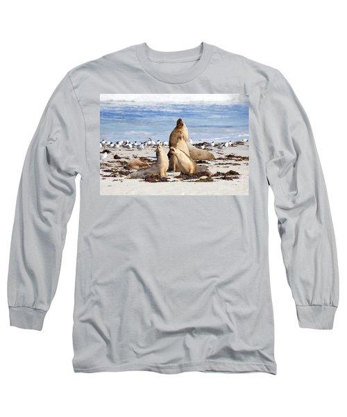 The Choir Long Sleeve T-Shirt by Mike Dawson