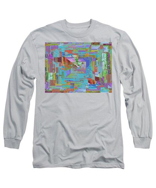 Topographic Albatross Long Sleeve T-Shirt by Tim Allen
