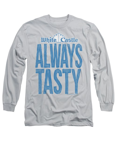 White Castle - Always Tasty Long Sleeve T-Shirt by Brand A
