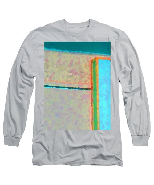 Long Sleeve T-Shirt featuring the digital art Up And Over by Richard Laeton