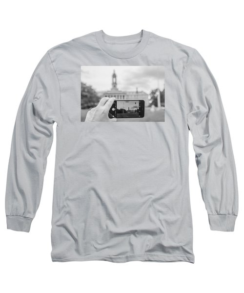 Old Main Penn State  Long Sleeve T-Shirt by John McGraw