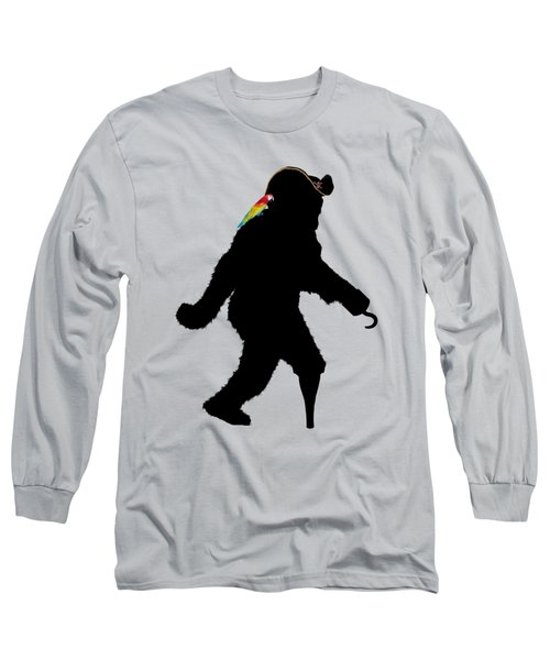 Gone Squatchin Fer Buried Treasure Long Sleeve T-Shirt by Gravityx9  Designs