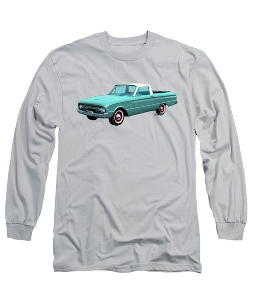 2nd Generation Falcon Ranchero 1960 Long Sleeve T-Shirt by Chas Sinklier
