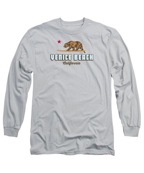 Venice Beach La. Long Sleeve T-Shirt by Lerak Group LLC
