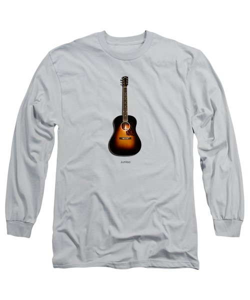 Gibson Original Jumbo 1934 Long Sleeve T-Shirt by Mark Rogan