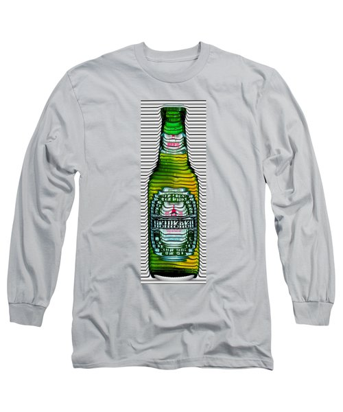 Beer Ripples Long Sleeve T-Shirt by David Balber