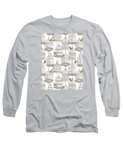 Birdcages Long Sleeve T-Shirt by Stephanie Davies