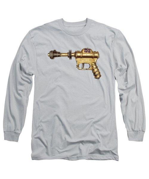Buck Rogers Ray Gun Long Sleeve T-Shirt by YoPedro