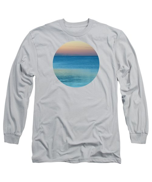 Evening At The Lake Long Sleeve T-Shirt by Mary Wolf