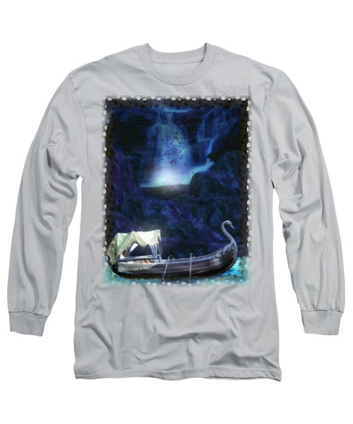 Faerie Cavern  Long Sleeve T-Shirt by Sharon and Renee Lozen