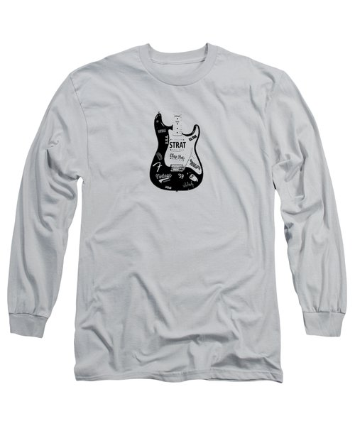 Fender Stratocaster 59 Long Sleeve T-Shirt by Mark Rogan