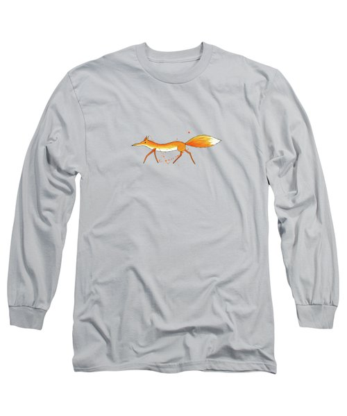 Fox  Long Sleeve T-Shirt by Andrew Hitchen
