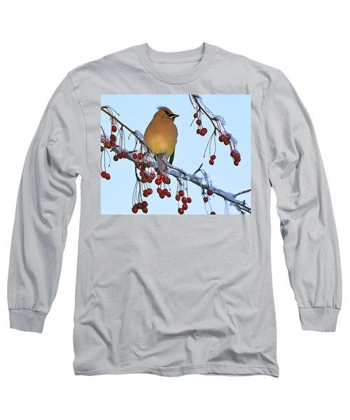 Frozen Dinner  Long Sleeve T-Shirt by Tony Beck