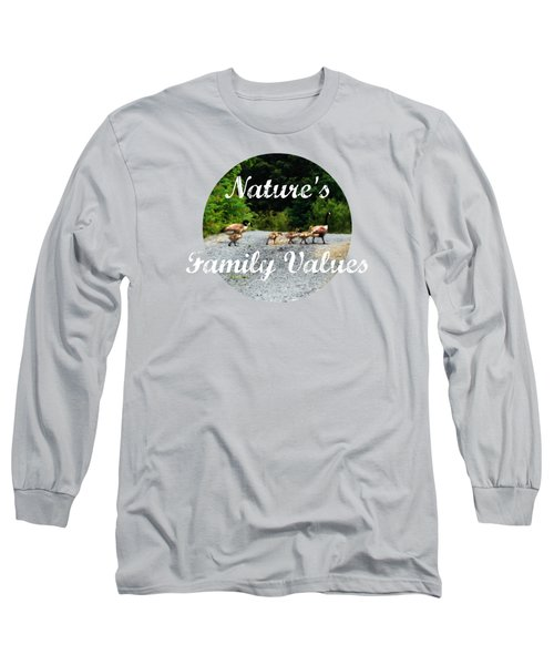 Goose Family Long Sleeve T-Shirt by Anita Faye