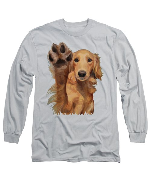 High Five Long Sleeve T-Shirt by Jindra Noewi