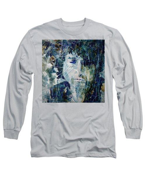 Knocking On Heaven's Door Long Sleeve T-Shirt by Paul Lovering