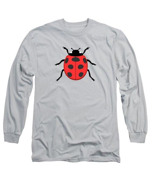 Ladybug Long Sleeve T-Shirt by Gaspar Avila