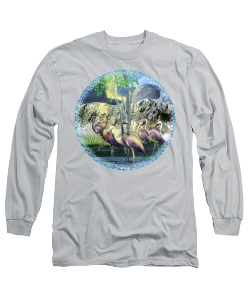 Lakeside View Long Sleeve T-Shirt by Sharon and Renee Lozen