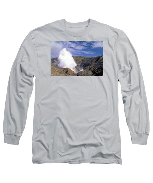 Long Sleeve T-Shirt featuring the photograph Mount Aso by Travel Pics