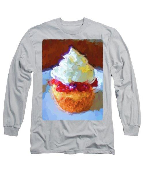 My Surreal Cupcake Long Sleeve T-Shirt by Jackie VanO