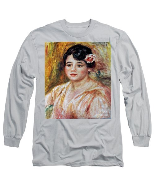 Renoir: Adele Besson, 1918 Long Sleeve T-Shirt by Granger