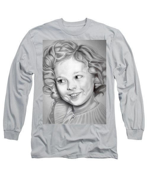 Shirley Temple Long Sleeve T-Shirt by Fred Larucci