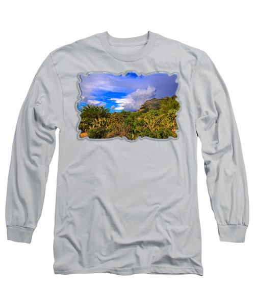 Sonoran Afternoon H11 Long Sleeve T-Shirt by Mark Myhaver