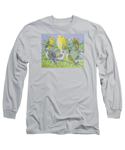 Sweet Talking Long Sleeve T-Shirt by Pat Scott