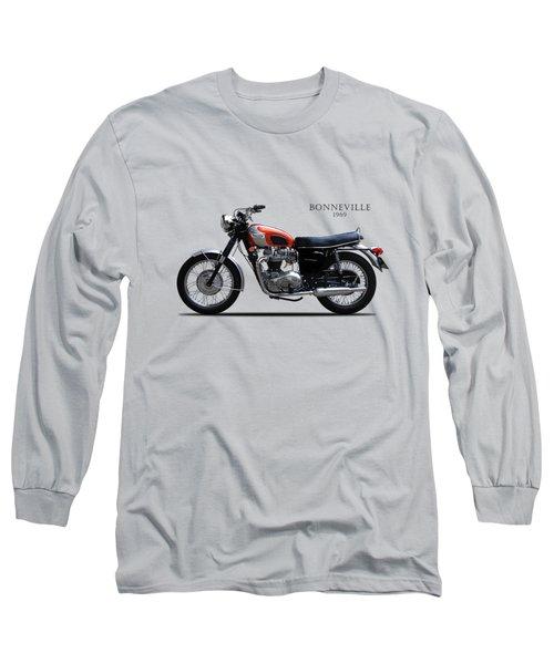 The 69 Bonnie Long Sleeve T-Shirt by Mark Rogan