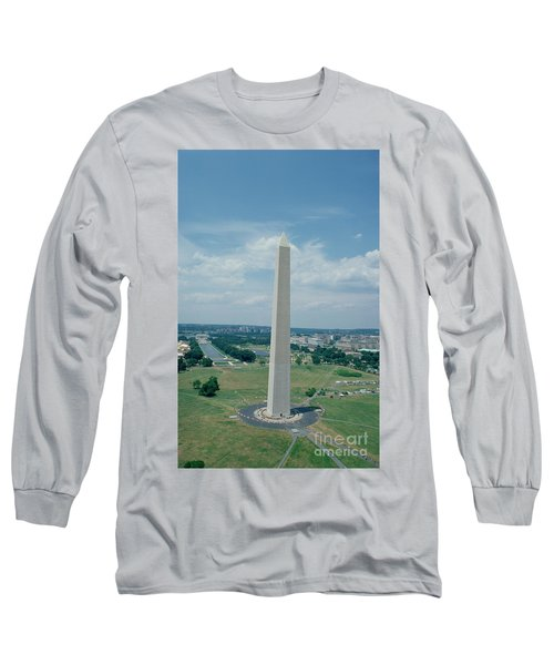 The Washington Monument Long Sleeve T-Shirt by American School